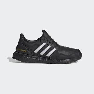 Ultraboost DNA Shoes Core Black / Cloud White / Gold Metallic EG2043