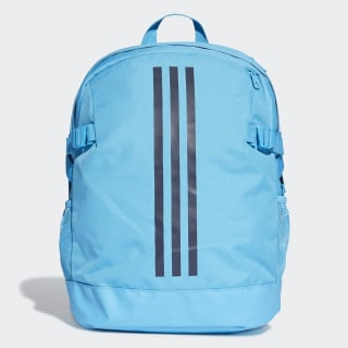 Mochila 3-Stripes Power Medium Shock Cyan / Legend Ink / Legend Ink DU1995