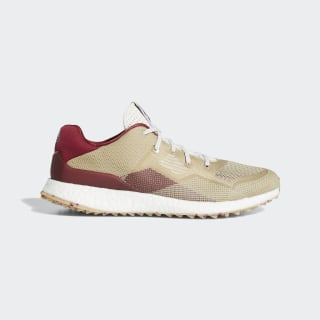 Crossknit DPR Golf Shoes Chalk White / Collegiate Burgundy / Savannah EF5746