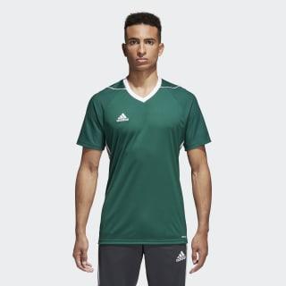 Camiseta Tiro 17 COLLEGIATE GREEN/WHITE BS4213