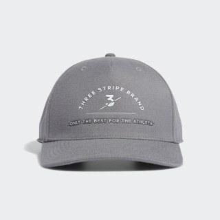 Three Stripe Brand Cap Grey Three EA2757