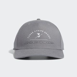 หมวกแก๊ป Three Stripe Brand Grey Three EA2757