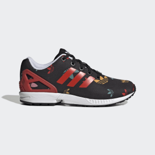 ZX Flux Schuh Core Black / Lush Red / Cloud White EH2019
