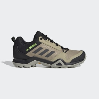 Terrex AX3 Hiking Shoes Savannah / Core Black / Signal Green EF4592
