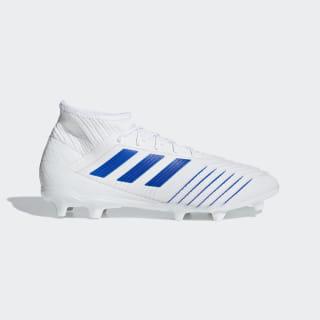 Chimpunes de Fútbol Predator 19.2 Terreno Firme Ftwr White / Bold Blue / Bold Blue D97941