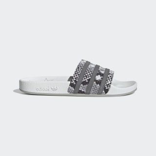 Adilette Slides Crystal White / Grey Four / Grey Two EH0166