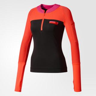 Playera adidas STELLASPORT Sleek Black / Flash Red BS1147