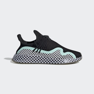Zapatillas Deerupt Runner S Core Black / Ftwr White / Clear Mint CG6086