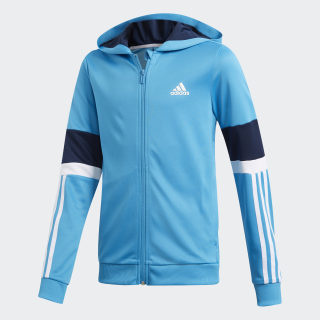 Veste à capuche Equipment Shock Cyan / Collegiate Navy / White DV2927
