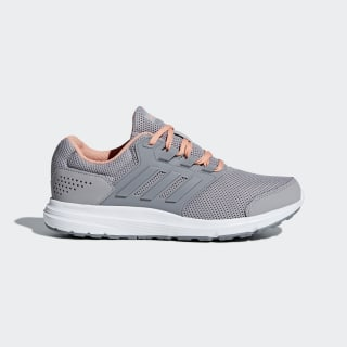 Tenis Galaxy 4 LIGHT GRANITE/GREY THREE F17/CHALK CORAL S18 B43834
