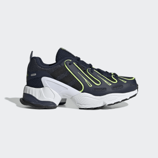 EQT Gazelle Shoes Collegiate Navy / Core Black / Solar Yellow EE7527