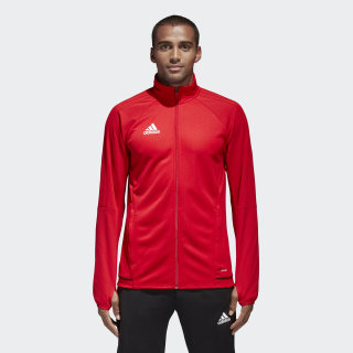 Tiro 17 Training Jacket Scarlet / Black / White BQ2710