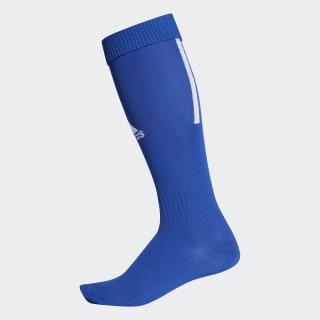 Футбольные гетры Santos 18 bold blue / white CV8095