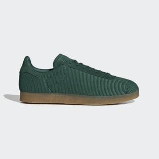 Chaussure Gazelle Collegiate Green / Collegiate Green / Gum 3 EE5523