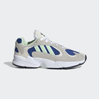Yung-1 Shoes Cloud White / Glow Green / Collegiate Royal EE5318