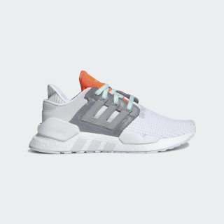 Zapatillas EQT SUPPORT 91/18 W ftwr white / grey two f17 / solar orange DB2707