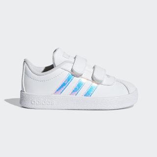 VL Court 2.0 Shoes Cloud White / Cloud White / Clear Orange F36408