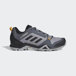 Terrex AX3 Hiking Shoes Light Granite / Core Black / Active Gold EF0533
