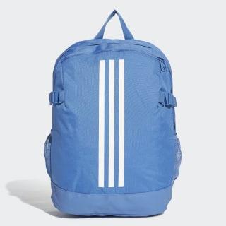 3-Stripes Power Backpack Medium trace royal s18 / white / white DM7684