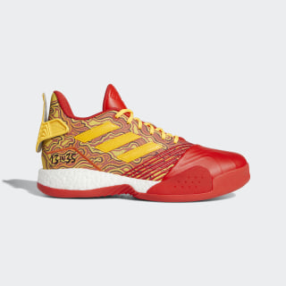 T-Mac Millennium Shoes Scarlet / Gold Metallic / Red G28376