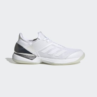 Ubersonic 3 Hard Court Shoes Cloud White / Cloud White / Matte Silver EF2463
