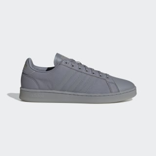 Grand Court Shoes Grey / Grey / Matte Gold EE7884