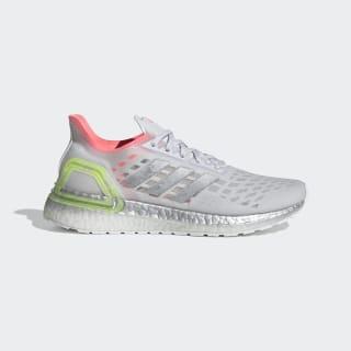 Ultraboost PB Shoes Dash Grey / Silver Metallic / Light Flash Red EG0420