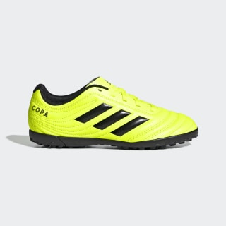 Zapatillas de Fútbol Copa 19.4 Césped Artificial Solar Yellow / Core Black / Solar Yellow F35457
