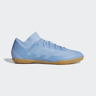 Chuteira Nemeziz Messi Tango 18.3 Futsal ASH BLUE S18/ASH BLUE S18/GOLD MET. DB2225