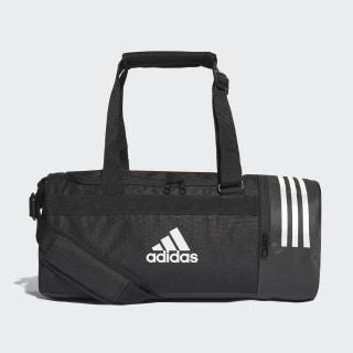 Bolsa de deporte pequeña Convertible 3 bandas Black / White / White CG1532