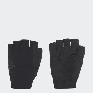 Перчатки black / white / black B43116
