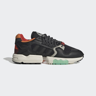 Chaussure ZX Torsion Core Black / Orange / Bold Green EE5553