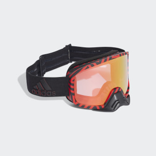 Backland Dirt Goggles Core Black / Core Black / Shock Red CK7114
