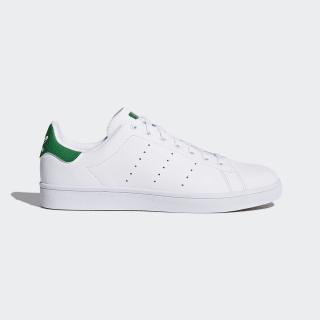 Stan Smith Vulc Shoes Ftwr White/Ftwr White/Green B49618
