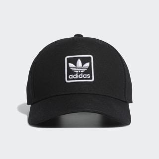 Dart Trefoil Patch Snapback Hat Black CL6296