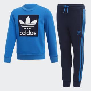 Sweatshirt Set Bluebird / Collegiate Navy / White ED7727
