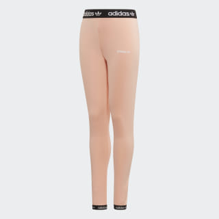 Legíny Leggins Glow Pink / Black / White ED7872