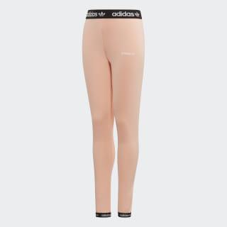 Mallas Poly Leggings glow pink/black/white ED7872