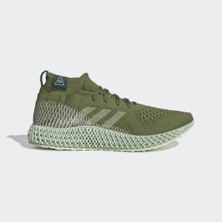 Pharrell Williams 4D Shoes Tech Olive / Running White / Collegiate Green FV6334