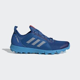 Кроссовки для трейлраннинга Terrex Agravic Speed blue beauty / grey two f17 / shock cyan BC0377