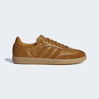 Samba OG FT Shoes Craft Ochre / Craft Ochre / Gold Met. CG6134