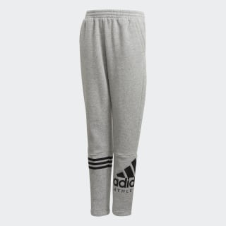 PANTS (1/1) YB SID PANT MEDIUM GREY HEATHER/BLACK DI0177