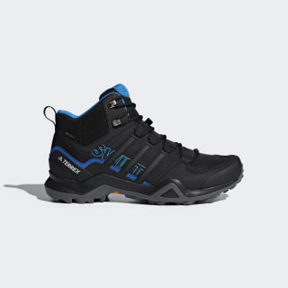 Terrex Swift R2 Mid GORE-TEX Hiking Shoes Core Black / Core Black / Bright Blue AC7771