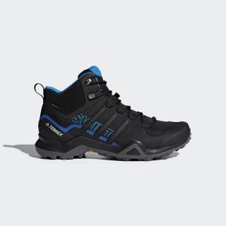 Terrex Swift R2 Mid GORE-TEX Hiking Shoes Core Black / Core Black / Bright Blue AC7771