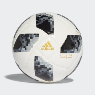 Bola FIFA World Cup S5X5 2018 WHITE/BLACK/SILVER MET. CE8144