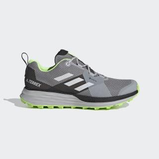 Terrex Two GORE-TEX Trail Running Shoes Grey Three / Grey One / Signal Green EH1835
