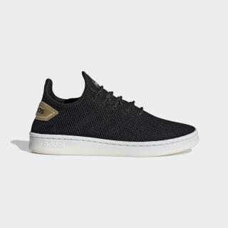 Court Adapt Shoes Core Black / Core Black / Matte Gold EE8115