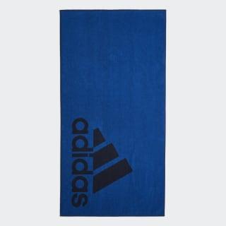 adidas håndklæde, stort Blue / Legend Ink DH2868