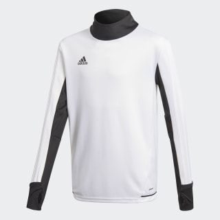 Maglia Tiro17 Training White/Black BQ2757