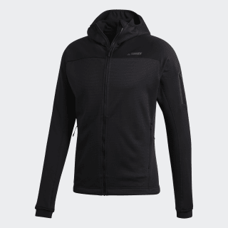 Terrex Stockhorn Hooded Fleece Jacket Black CY8702